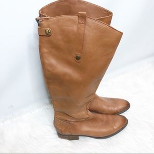 Sam Edelman Leather Penny 2 Wide Calf Tall Riding